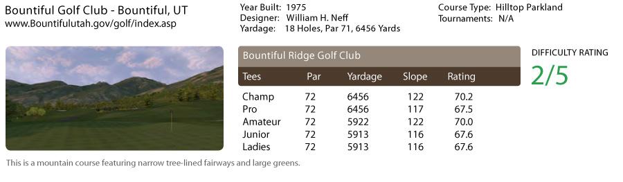 Bountiful Golf Club